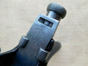 Vintage-Preston-Quirk-router-spokeshave-Carpenters-woodwork-tool-old-E2111