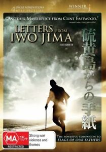 Letters-From-Iwo-Jima-DVD-2007-R4-Clint-Eastwood-134-Mins-Excellent-Conditi