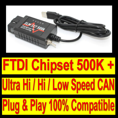 Fits Ford USB Scanner OBD2 Diagnostic Car Fault Tool Code Reader CAN EOBD OBDII