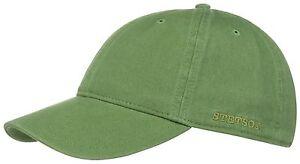 stetson-Gorra-De-Beisbol-Gorra-quepis-RECTOR-Sun-Guard-algodon-verde-46