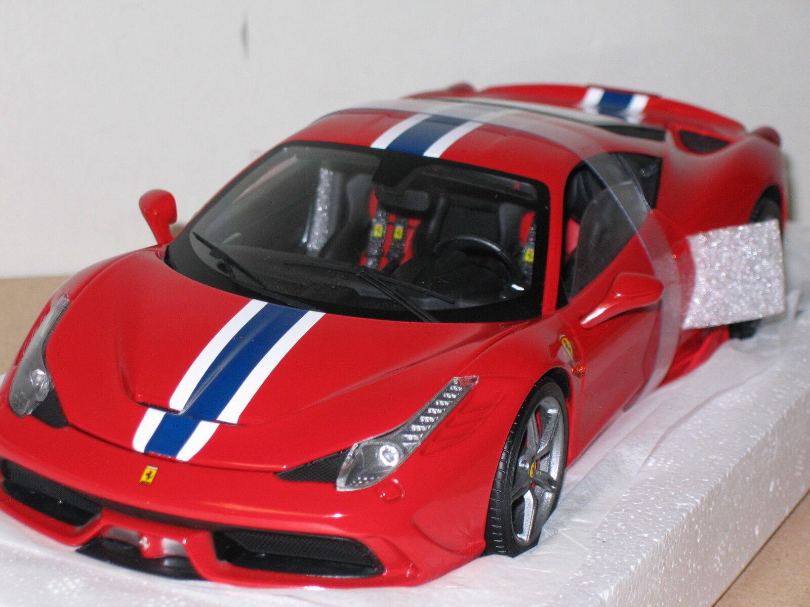 1 18 HOT Wtalons ELITE  FERRARI 458 SPECIALE , rouge , nouveau , BLY31  réductions incroyables
