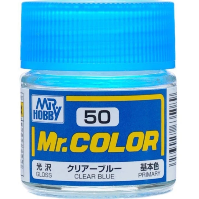 Mr Color 50 Gloss Clear Blue 10ml