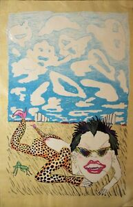 Red-Grooms-Lorna-Doone-1980-Original-Lithograph