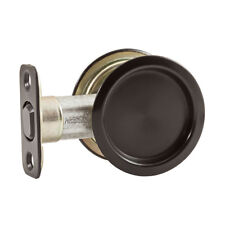 National Hardware N350 314 Steel Pocket Door Pull, Oil Rubbed Bronze