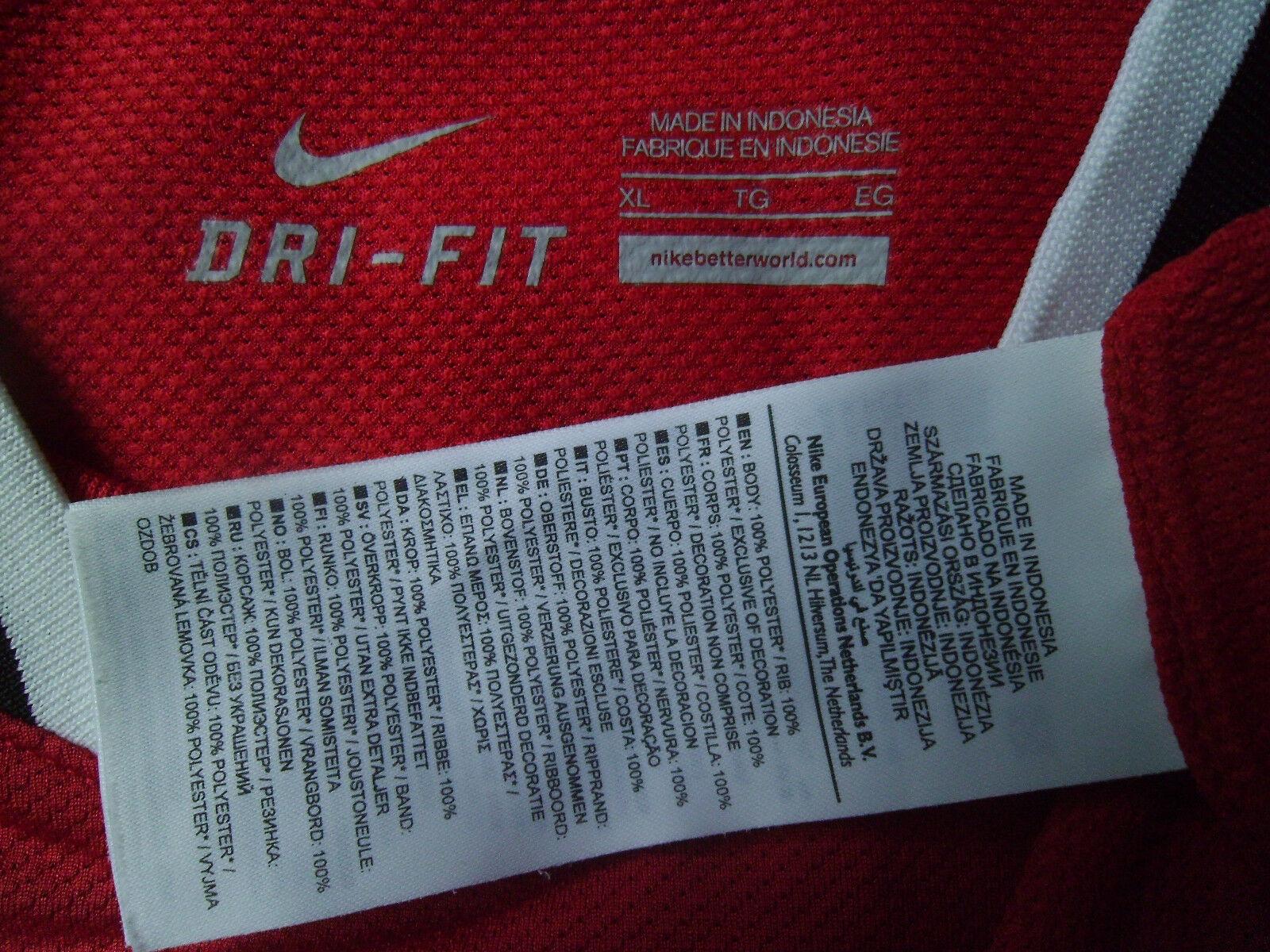 POGBA     Shirt 2011-12 Manchester United Home Shirt  Jersey Trikot XL 783942