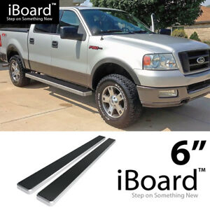 Excl. 04 Heritage Edition Nerf Bars | Side Steps | Side Bars iBoard Running Boards 4 Custom Fit 2004-2008 Ford F150 SuperCrew Cab Pickup 4-Door