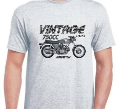 DUCATI 750 GT 1971 inspiré vintage moto vélo shirt tshirt