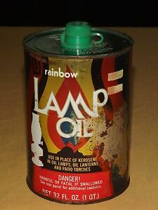 VINTAGE-LANTERN-RAINBOW-PINE-SCENTED-GREEN-LAMP-OIL-TIN-CAN-EMPTY