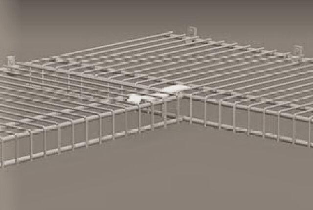 Closetmaid Corner Support Bracket Wire Closet Shelving Rubbermaid For Online Ebay