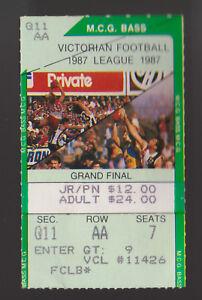 1987-Grand-Final-Used-stub-ticket-Carlton-vs-Hawthorn-Blues-won