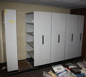 Brownbuilt Adjustable Steel Compactus Shelving System