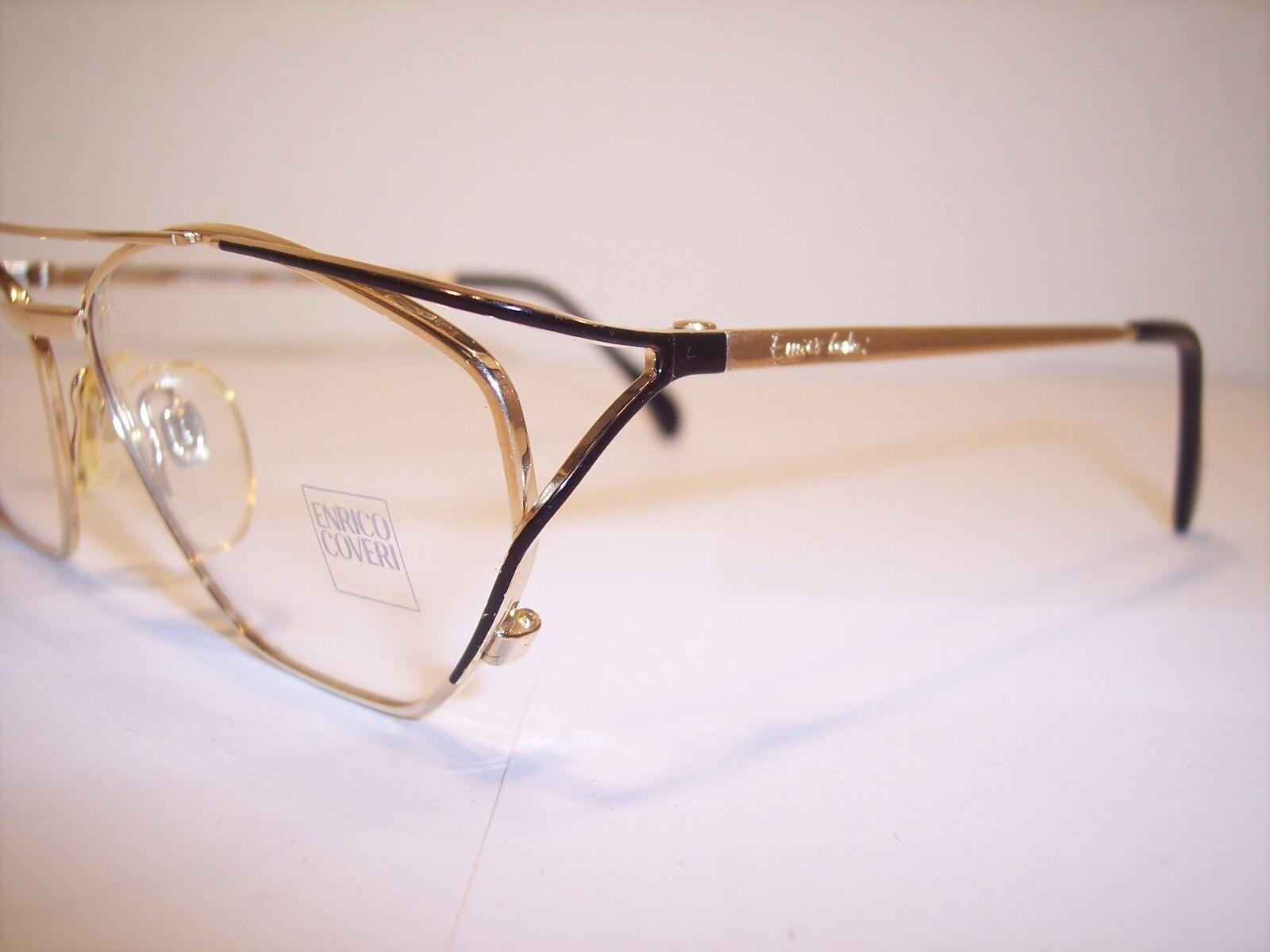 Damen-Brille Eyeglasses Lunettes by ENRICO COVERI COVERI COVERI 100%Vintage Original 90'er 7ea34a