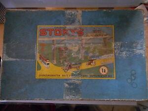 Stokys Boite Complementaire 1a Set Complémentaire 1950 -1960 - Meccano