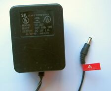 SIL UD-1315 AC Adapter Power Supply 13 Volt 1.5 A Negative (-) Polarity Plug