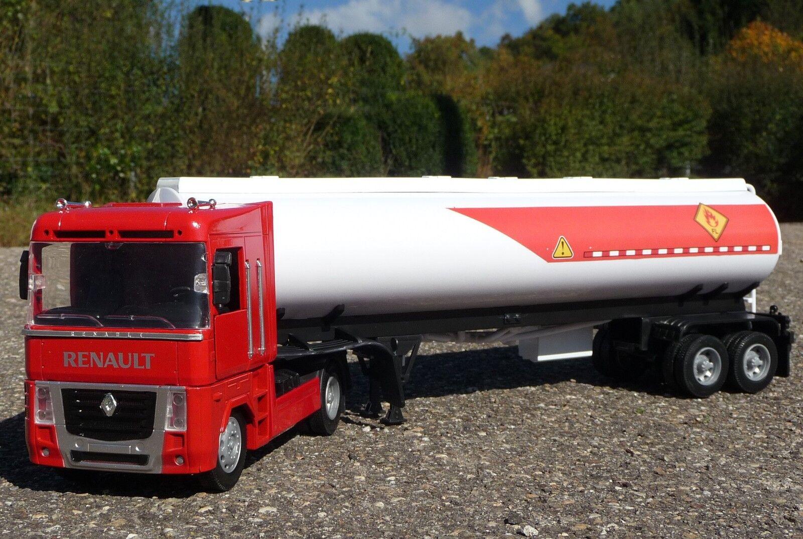 Jouet camion renault magnum avec essence pendentif dans 1 32 longueur 58cm 10023a