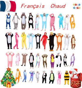 super cute buy cheap hot new products Détails sur Pyjama Licorne Pyjama Licorne Adulte  Kigurumi-combinaison-animaux Unicorn-Onesie