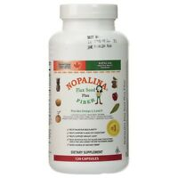 Nopalina Nopalina Flax Seed Plus Fiber Capsules 120 Ea (pack Of 9) on Sale