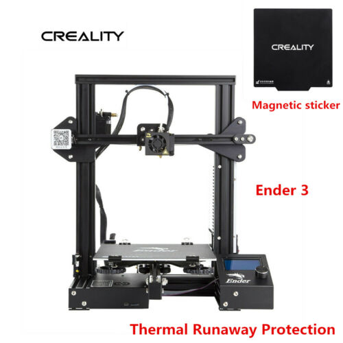 Magnetic sticker Creality Ender 3 3D Printer Thermal Runaway Protection DC 24V
