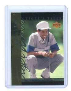 2001 upper deck tiger's tales #TT3 TIGER WOODS rookie card