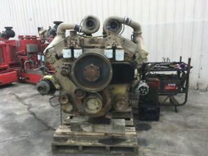 1987-Cummins-KTA38-Diesel-Engine-925HP-All-Complete