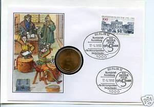 2019 DernièRe Conception Numisbrief Rda: Münzprägestätten Allemagne 1993-en Deutschlands 1993fr-fr Afficher Le Titre D'origine Vif Et Grand Dans Le Style