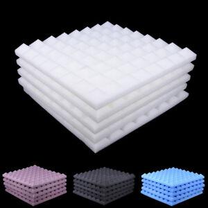 5pcs-set-50x50-Soundproofing-Foam-Studio-Acoustic-Sound-Absorption-Wedge-Tile-UP