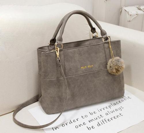 Women's Pu Leather Handbag Shoulder Bags Tote Purse Crossbody Messenger Satchel