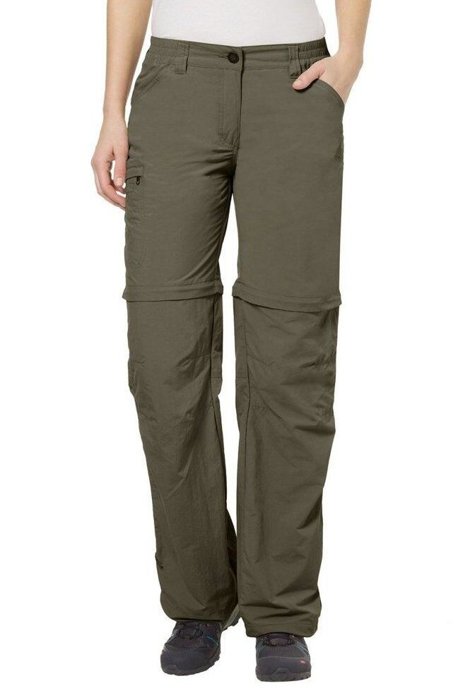 Vaude Farley ZO 4 zip off hiking travel trousers shorts XXL Measured rrp Eco