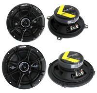 Kicker 5.25 200w (pair) + Kicker 6.5 240w 2-way Car Coaxial Speakers (pair) on sale