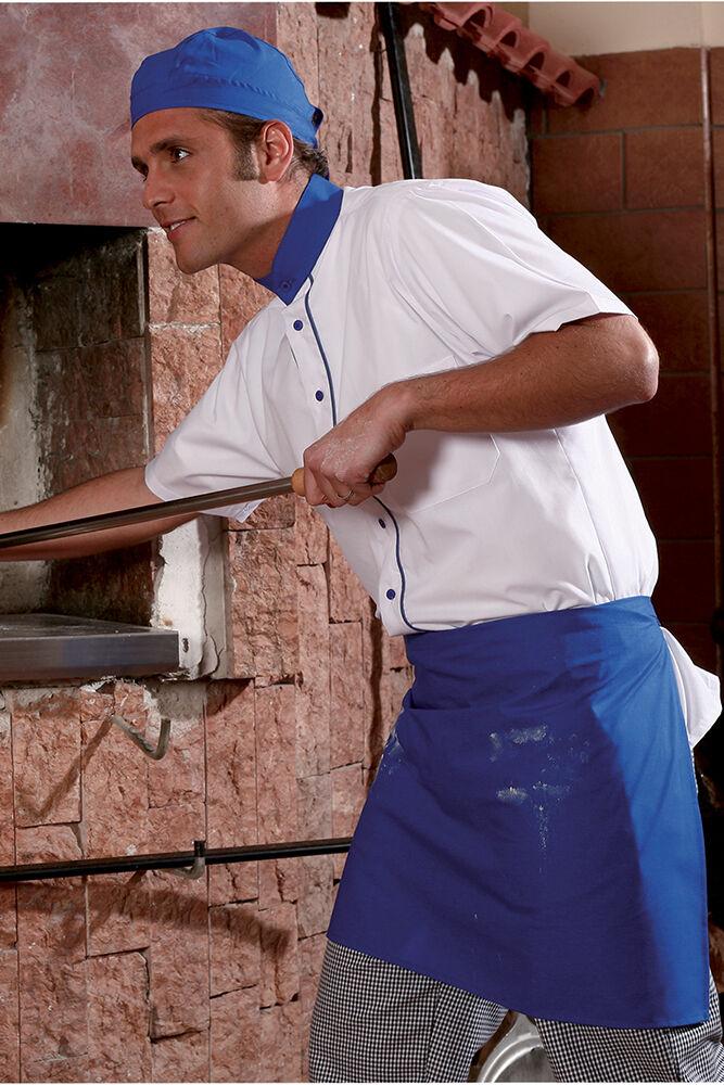 Divisa Kit Pizzaiolo Cuoco Chef completo da Lavgold Ristorante Abbigliamento 3 pz