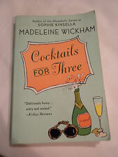 Cocktails for Three by Madeleine Wickham (2006, Paperback)