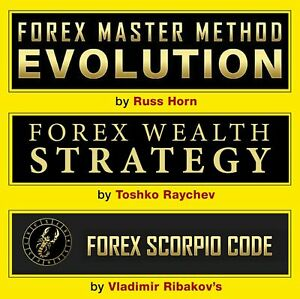 FOREX WEALTH STRATEGY + MASTER METHOD EVOLUTION + SCORPIO CODE = Pack 3 Systems