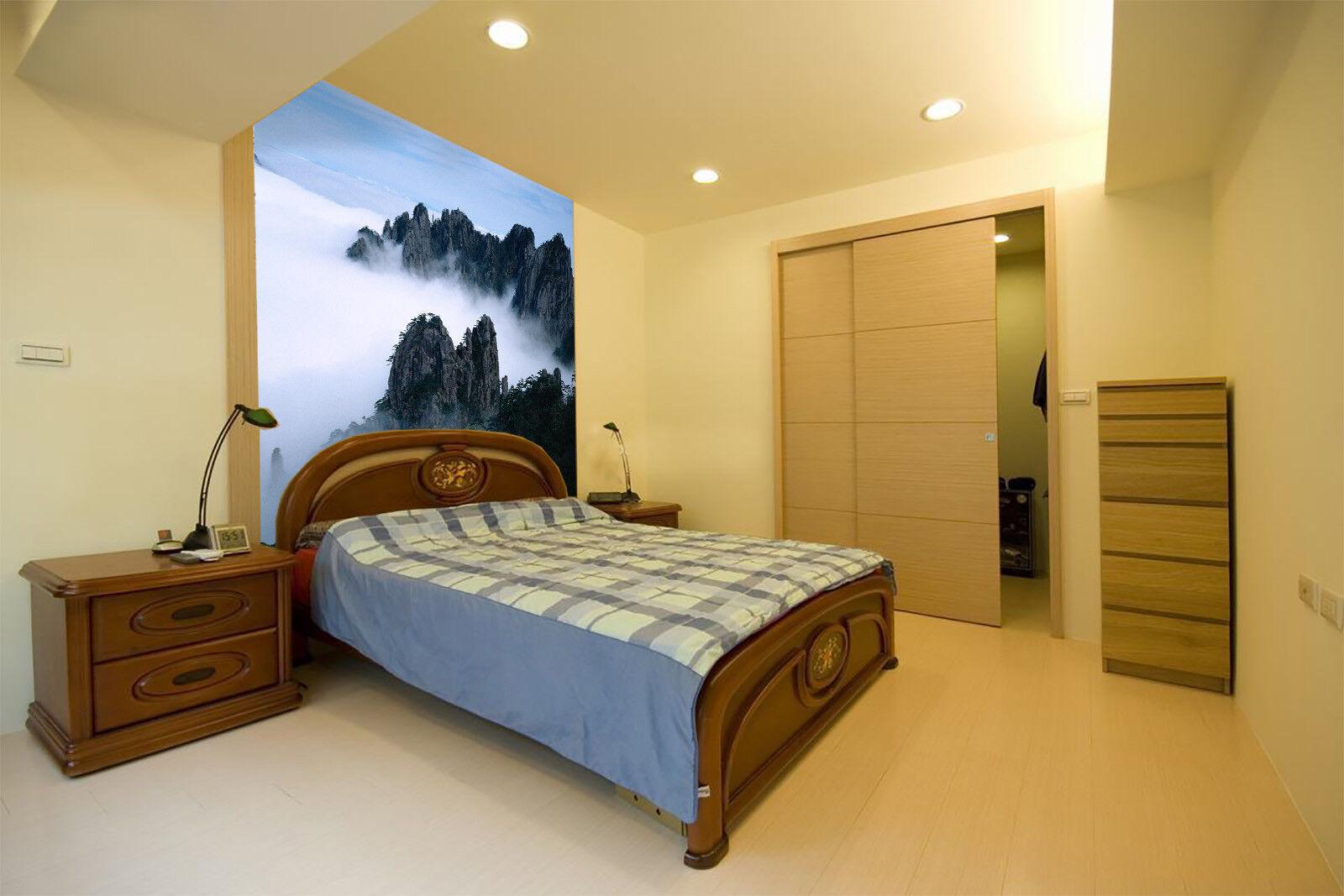 3D Weiße Wolken Berg 75 Tapete Wandgemälde Tapete Tapeten Bild Bild Bild Familie DE Summer   Verkauf Online-Shop    Kostengünstiger     517bcd