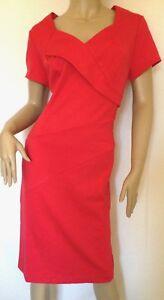 Kaleidoscope-Smart-Red-Ponte-Jersey-Dress-Size-14-rrp-75-R3