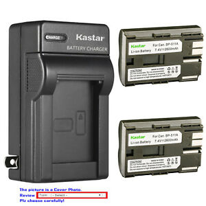 Kastar-Battery-Wall-Charger-for-Canon-BP-511-BP-511A-amp-Canon-Optura-10-Optura-20