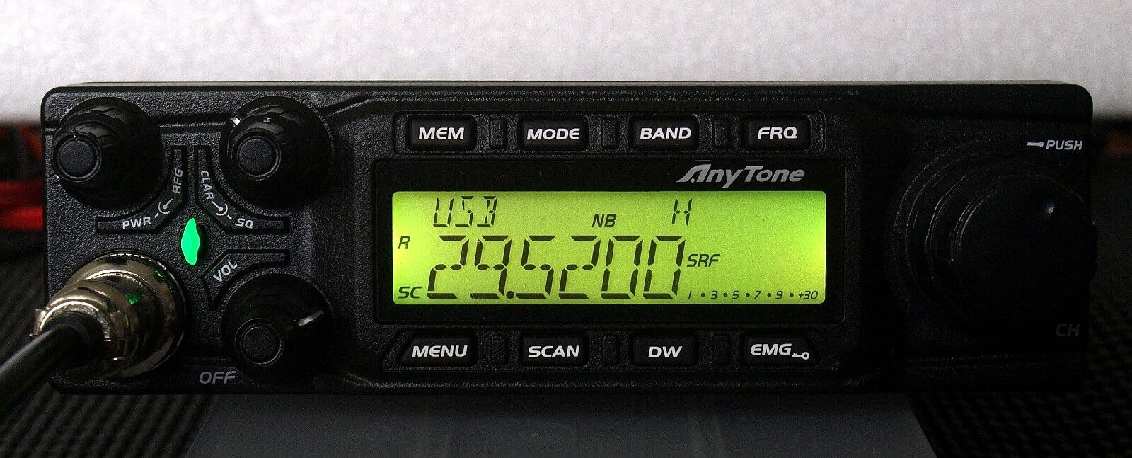 Anytone AT 6666 10 meter mobile Radio AM FM USB LSB PA. Buy it now for 239.00