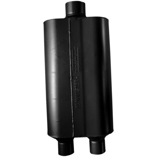 "Flowmaster 8524553 Super 50 Series Muffler 2.25/"" Dual Inlet//3/"" Center Outlet"