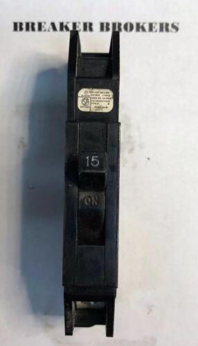 SHIPS TODAY Zinsco GTE Sylvania Type Q 15 Amp Plug-In Circuit Breaker 1 Pole