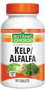 Botanic-Choice-Kelp-Alfalfa-90-Tablets-free-shipping