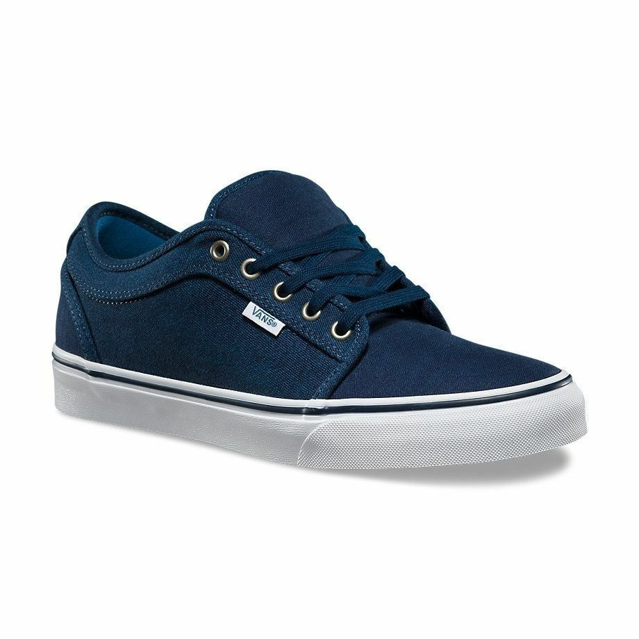 VANS Chukka Low (Material Mash) Navy UltraCush MEN'S 7.5 WOMEN'S 9