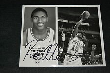RON ARTEST  signed autograph 8x10 (20x25 cm) CHICAGO BULLS Metta World Peace