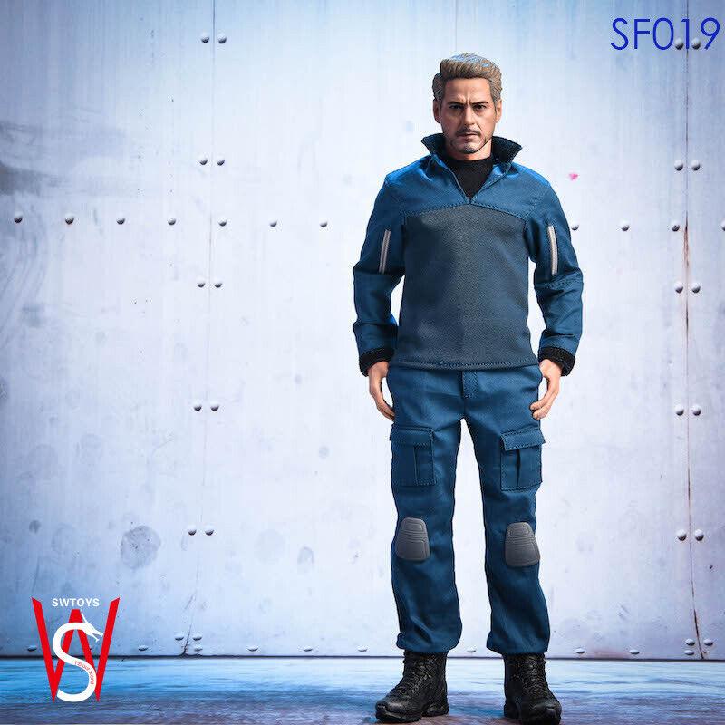 SWTOYS SF019 1 6 escala Iron Man Tony Estrellak Vengadores collectile Juguete Figura De Acción
