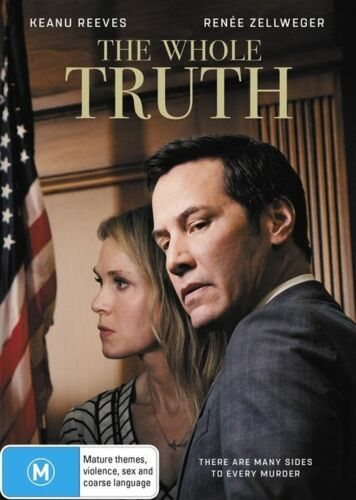 1 of 1 - The Whole Truth (Dvd) Crime Drama Mystery Keanu Reeves, Renée Zellweger Movie