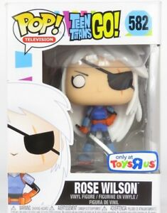 Funko-Pop-Television-Teen-Titans-Rose-Wilson-582-Vinyl-Figure
