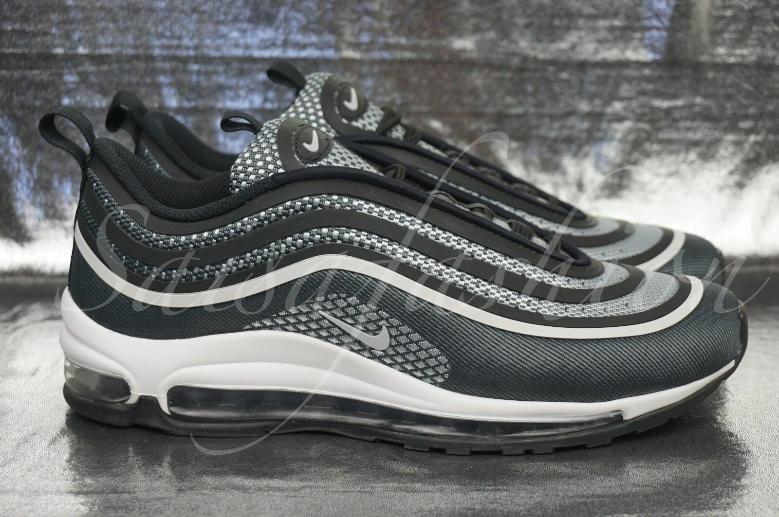 Nike Air Max 97 Ultra '17 (GS) Grade School (Big Kids) Shoes 917998 001 Sz 7Y