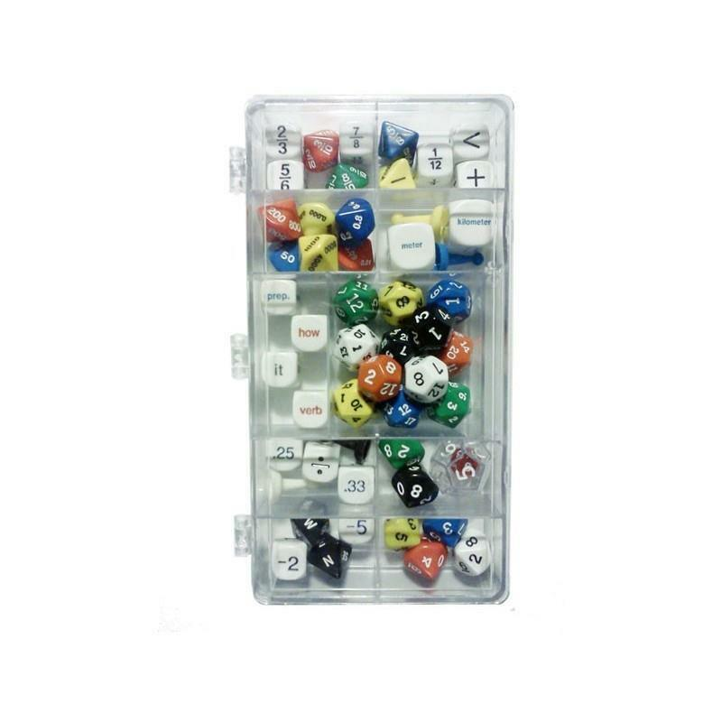 Upper Elementary Classroom School Dice Pack Math Fractions English Geography