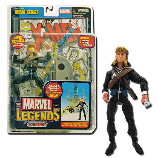 Marvel Legends Mojo Series Figurine Longshot Action figure Toy Biz V-61 71177