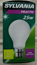 Sylvania 25w 48-50v B22 Pearl Low Voltage gls Pack of Two