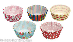 250-X-Kitchen-Craft-varies-fee-petits-gateaux-Muffin-Papier-valises