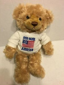 GUND-God-Bless-America-Brown-Bear-12-034-Plush-Stuffed-Animal